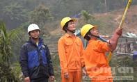 Điện đã về khu dân cư Khe Chữ