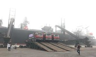 """Cảng Vũng Áng """"mở hàng"""" đầu năm đón tàu gần 50 ngàn tấn"""