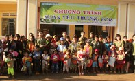 Báo Công an TP.HCM trao quà Tết tại các tỉnh Tây nguyên