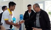 Bầu Đức dẫn HLV Park Hang-seo thăm Học viện Bóng đá HAGL JMG
