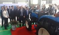 Chiêm ngưỡng máy móc nông nghiệp hiện đại đầu năm mới