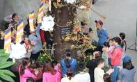 Người Sài Gòn nườm nượp đi chùa hứng hoa, thả cá, đọc kinh đầu năm