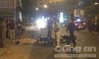 Hai xe máy đối đầu, một người tử nạn, 3 người đi cấp cứu