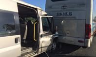Tông xe liên hoàn trên đường cao tốc, nhiều người bị thương