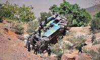 Xe khách lao xuống vực ở Peru, ít nhất 44 người chết