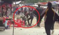 Hỗn chiến trong chùa, một thanh niên bị đánh gục