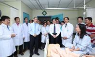 Bí thư Thành ủy TP.HCM đi thăm, chúc mừng nhân ngày Thầy thuốc Việt Nam