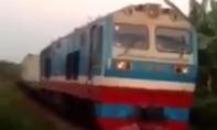 Hai đoàn tàu hỏa suýt đâm nhau trực diện tại tỉnh Đồng Nai