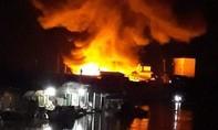 Cháy chợ, 2 vợ chồng tử vong, 5 căn nhà bị thiêu rụi