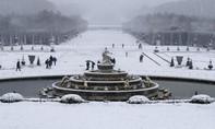 Pháp: Tuyết rơi dày, tháp Eiffel buộc phải đóng cửa