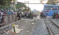Băng ngang đường sắt, người đàn ông bị tàu hỏa kéo lê tử vong