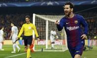Messi đi vào lịch sử Champions League