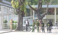 Tăng cường an ninh khu vực Hội trường Thống Nhất  trước ngày Quốc tang