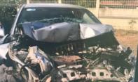 Tai nạn liên hoàn 4 ôtô gần trạm BOT Sông Phan