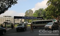 TP.HCM: Hạn chế lưu thông nhiều tuyến đường phục vụ Quốc tang