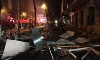 Hình ảnh vụ nổ kinh hoàng tại nhà hàng lúc nửa đêm