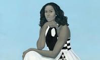 Tranh vẽ bà Obama bị chuyển chỗ vì... thu hút đông người xem