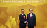 Tổng thống Hàn Quốc Moon Jae-in thăm Việt Nam