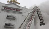 Cháy khủng khiếp tại quán karaoke lớn nhất Hà Tĩnh