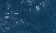 Tàu chiến Trung Quốc tập trận trên Biển Đông