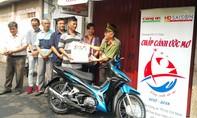 Hỗ trợ xe máy cho gia đình khó khăn