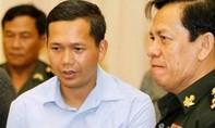 Con trai cả của ông Hun Sen nhậm chức tham mưu trưởng quân đội