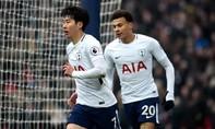 Hạ Huddersfield, Tottenham vững vị trí thứ 4