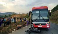 Xe khách tông xe máy, 2 vợ chồng tử vong