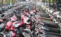 Công an quận Phú Nhuận tìm chủ sở hữu xe gắn máy