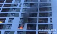 Cháy chung cư Parc Spring ở Sài Gòn