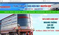 Lập trang web mạo danh trung tâm điện máy Nguyễn Kim lừa đảo?