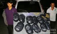 Chặn 13kg cần sa khô trên đường từ Campuchia vào Việt Nam