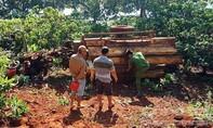 Lật xe máy cày chở gỗ, 1 người chết, 2 người nguy kịch