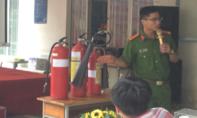 Công nhân ở Sài Gòn diễn tập cách ứng phó với 'bà hỏa'