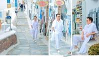 Đàm Vĩnh Hưng tiết lộ hình ảnh mới ở Santorini