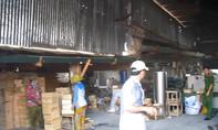 Lại xảy ra cháy tại xưởng gỗ ở Đồng Nai