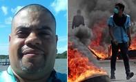 'Phóng viên chiến trường' bị bắn chết khi đưa tin bạo động