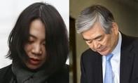 Ái nữ nhà Korean Air từ chức vì hắt nước vào người khác