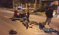 Xe tải tông trực diện xe máy, hai vợ chồng thương vong