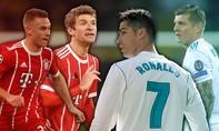 Bayern Munich - Real Madrid: Lịch sử nghiêng về Kền kền trắng