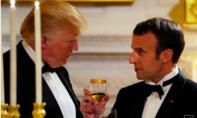 Trump và Macron gặp nhau bàn về thoả thuận hạt nhân mới với Iran
