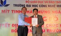 Thiếu tướng Trương Giang Long làm Hiệu trưởng ĐH Công nghệ Miền Đông