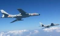 Trung Quốc diễn tập không quân quy mô quanh đảo Đài Loan