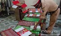 Bắt hơn 5.000 gói hương liệu shisha từ Sài Gòn ra Hà Nội