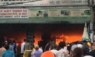 Cháy cửa hàng điện máy, thiệt hại tiền tỷ