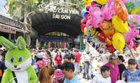 Hàng ngàn người chen ngạt thở đi chơi lễ, Thảo Cầm Viên Sài Gòn 'thất thủ'
