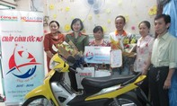 Hỗ trợ xe máy cho gia đình khó khăn quận Phú Nhuận