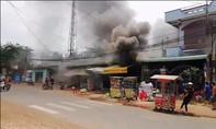 Cháy 2 ki-ốt, thiệt hại hàng trăm triệu đồng