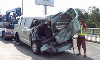 Tai nạn liên hoàn trên cao tốc, tài xế tử vong