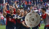 Bayern vô địch Bundesliga lần thứ 6 liên tiếp, trước 5 vòng đấu